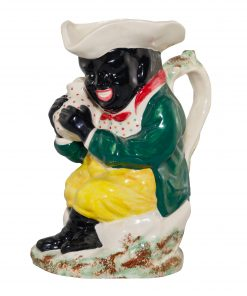 The Black Man Toby Jug