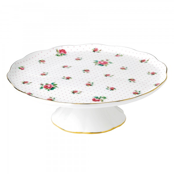 Cake Stand Pink Roses