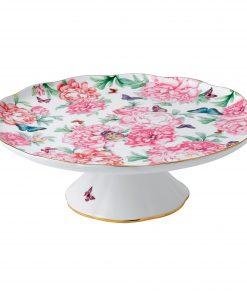 "Miranda Kerr for Royal Albert Collection - Large Cake Stand ""Gratitude"" Pattern"