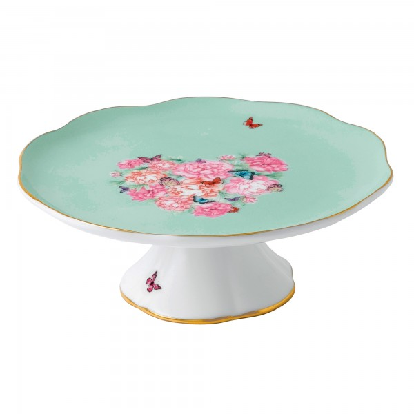 "Miranda Kerr for Royal Albert Collection - Small Cake Stand ""Blessings"" Pattern"