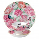 Miranda Kerr for Royal Albert Collection - Gratitude 3 pc Set (Teacup, Saucer, Plate)