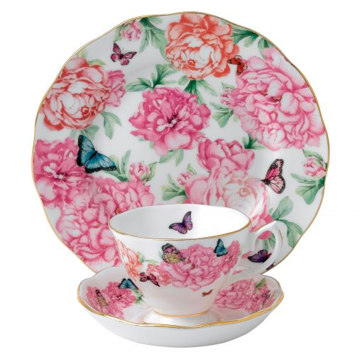 Miranda Kerr for Royal Albert Collection - Gratitude 3 pc Set (Teacup, Saucer, Plate)