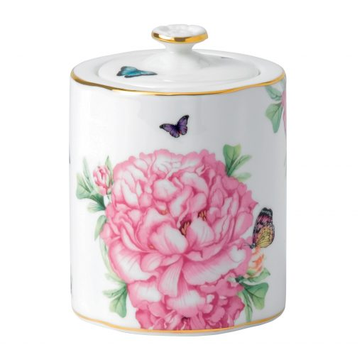 "Miranda Kerr for Royal Albert Collection -  Tea Caddy with Lid ""Friendship"" Pattern"