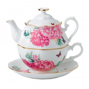 "Miranda Kerr for Royal Albert Collection - Tea For One ""Friendship"" Pattern"