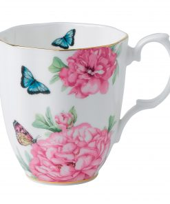 "Miranda Kerr for Royal Albert Collection - Vintage Mug (White) ""Friendship"" Pattern"
