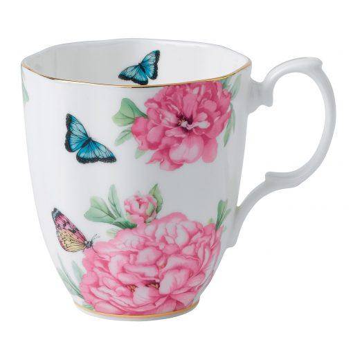 "Miranda Kerr for Royal Albert Collection - Vintage Mug (White) ""Friendship"" Pattern"