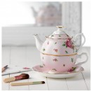 RAG_New Country 3pc Teapot Set PINK MS 3