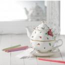 RAG_New Country 3pc Teapot Set WHT MS 3