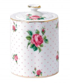 Tea Caddy Pink Roses