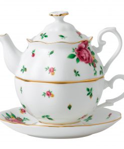 New Country Roses Tea For One (White)