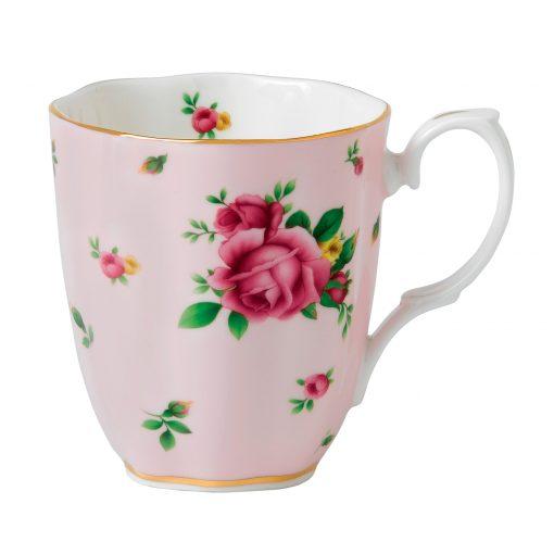 Vintage Mug (Pink Roses)