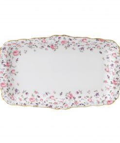 Vintage Sandwich Tray (Rose Confetti)