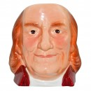 Benjamin Franklin Character Jug (Mid Size