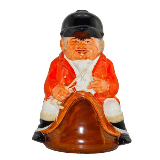 Huntsman Lidded Toby Jug with Fox Handle