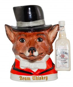 Hunting Fox Jim Beam Character Jug