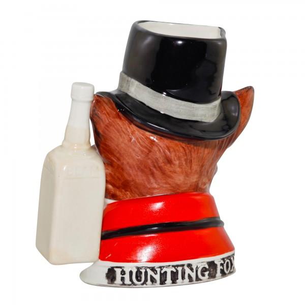Hunting Fox Jim Beam Character Jug