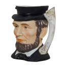 Abraham Lincoln Small Character Jug 2