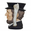Abraham Lincoln Small Character Jug 3