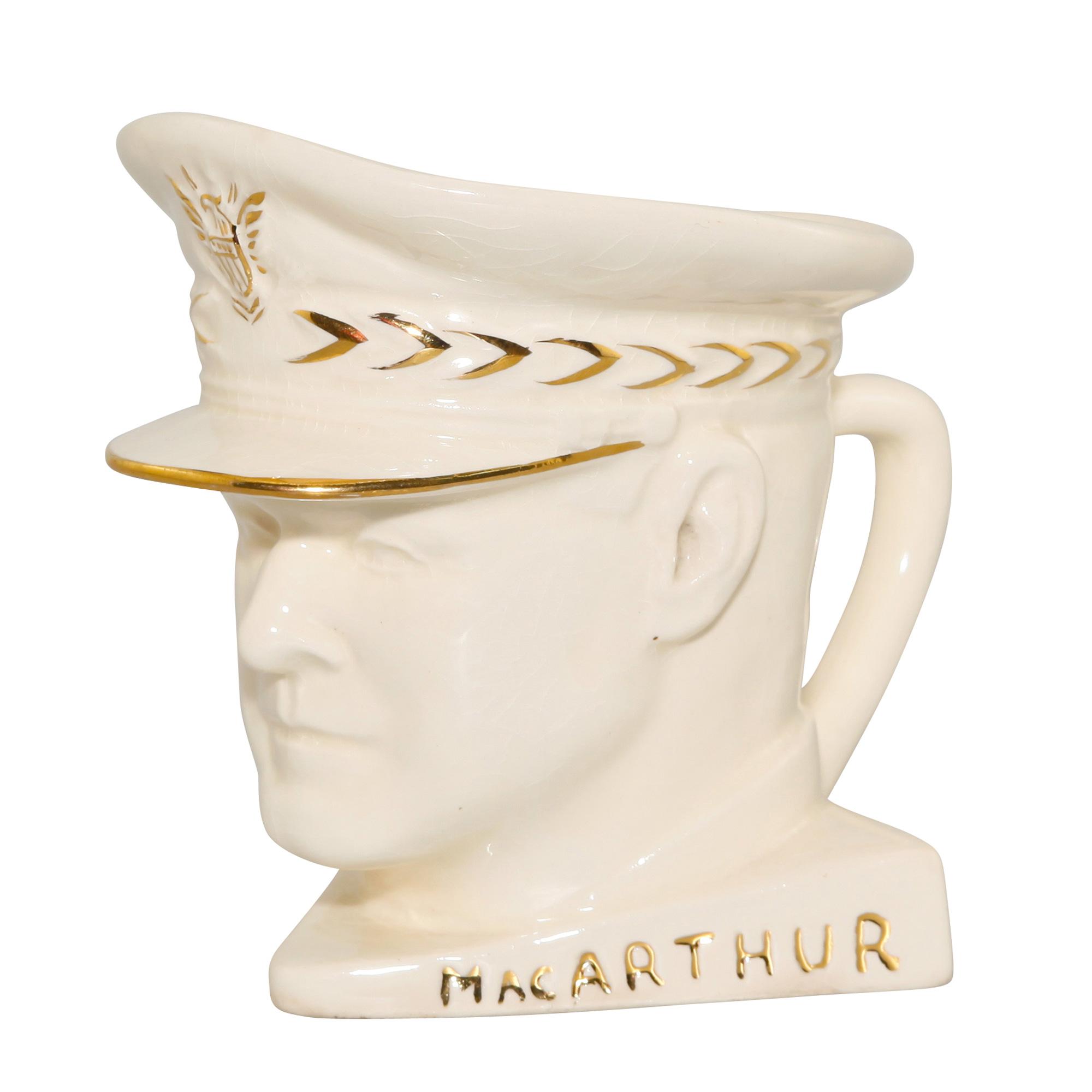 General MacArthur Small Character Jug