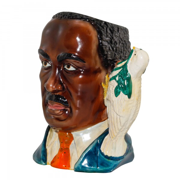 Martin Luther King, Jr. Large Character Jug (Dove Handle)