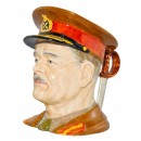 General Sir Archibald Wavell Large Character Jug 2