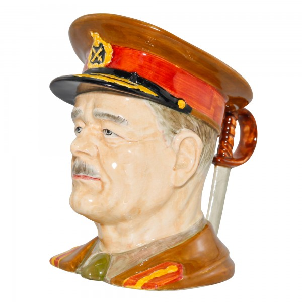 General Sir Archibald Wavell Large Character Jug