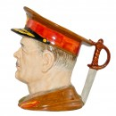 General Sir Archibald Wavell Large Character Jug 3