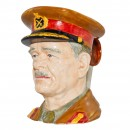 General Sir Archibald Wavell Character Jug (Mid Size) 2
