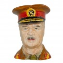 General Sir Archibald Wavell Small Character Jug