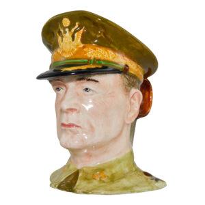 General Douglas MacArthur Character Jug (Mid Size)