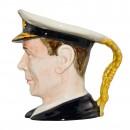 King George VI Character Jug (Mid Size) 3