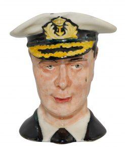 King George VI Small Character Jug