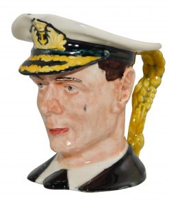King George VI Small Character Jug
