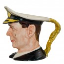 King George VI Small Character Jug 3