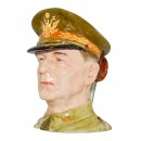 General Douglas MacArthur Large Character Jug 2