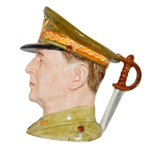 General Douglas MacArthur Large Character Jug