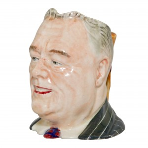 Franklin D. Roosevelt Small Character Jug