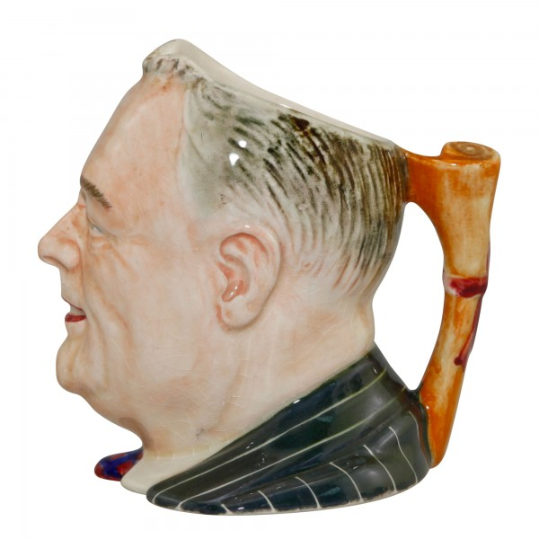 Franklin D. Roosevelt Small Character Jug