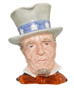 Uncle Sam Large Character Jug