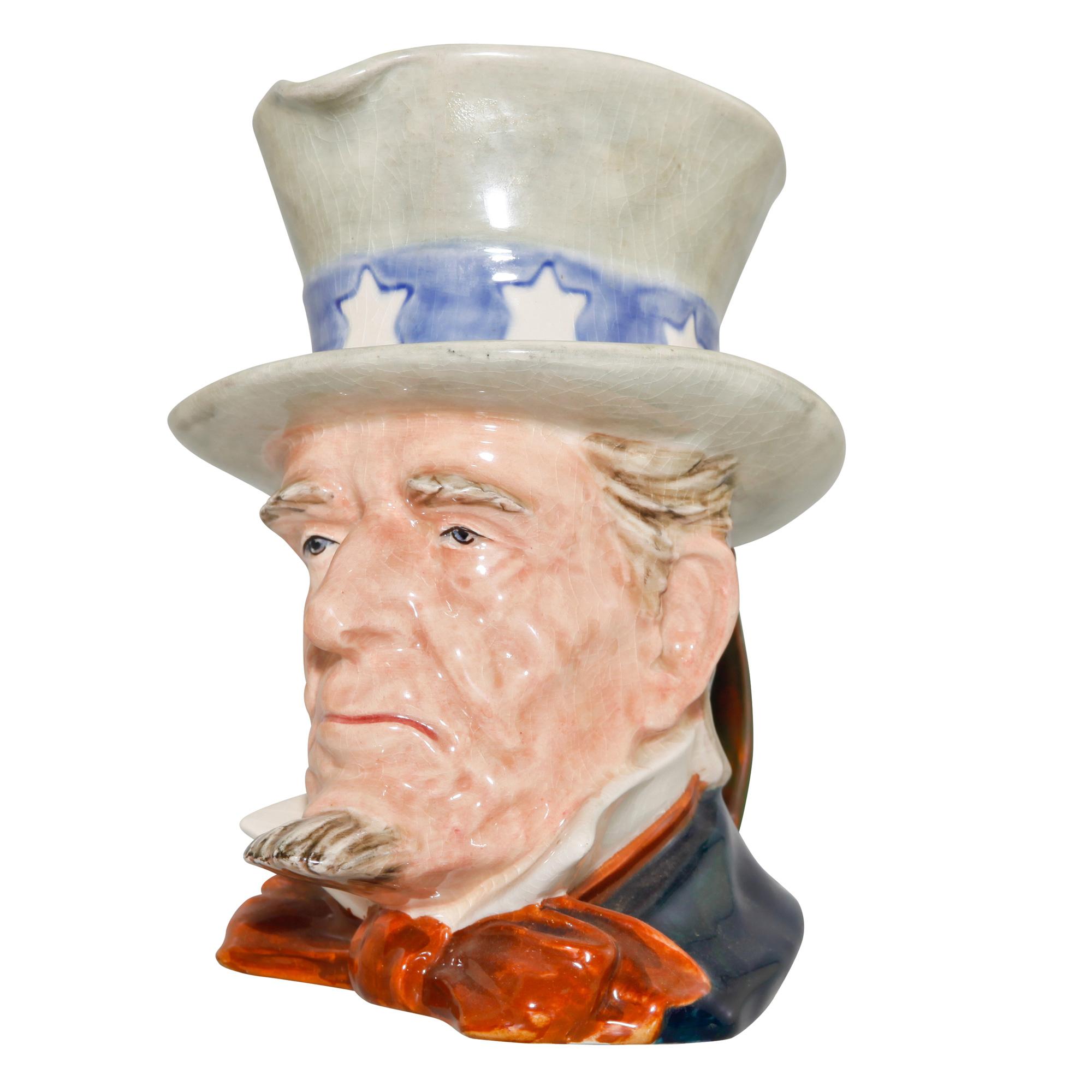 Uncle Sam Large Character Jug