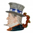 Uncle Sam Small Character Jug 3