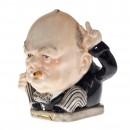 "Winston Churchill ""Victory"" Small Character Jug 2"