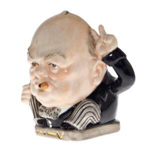 "Winston Churchill ""Victory"" Small Character Jug"