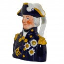 Admiral Lord Nelson Toby Jug 2