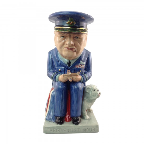 "Winston Churchill ""Air Commodore"" Large Toby Jug"