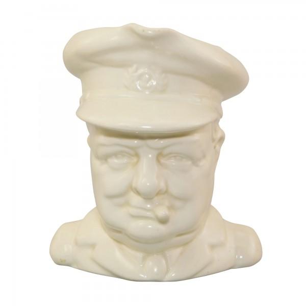 Winston Churchill Character Jug (All White)