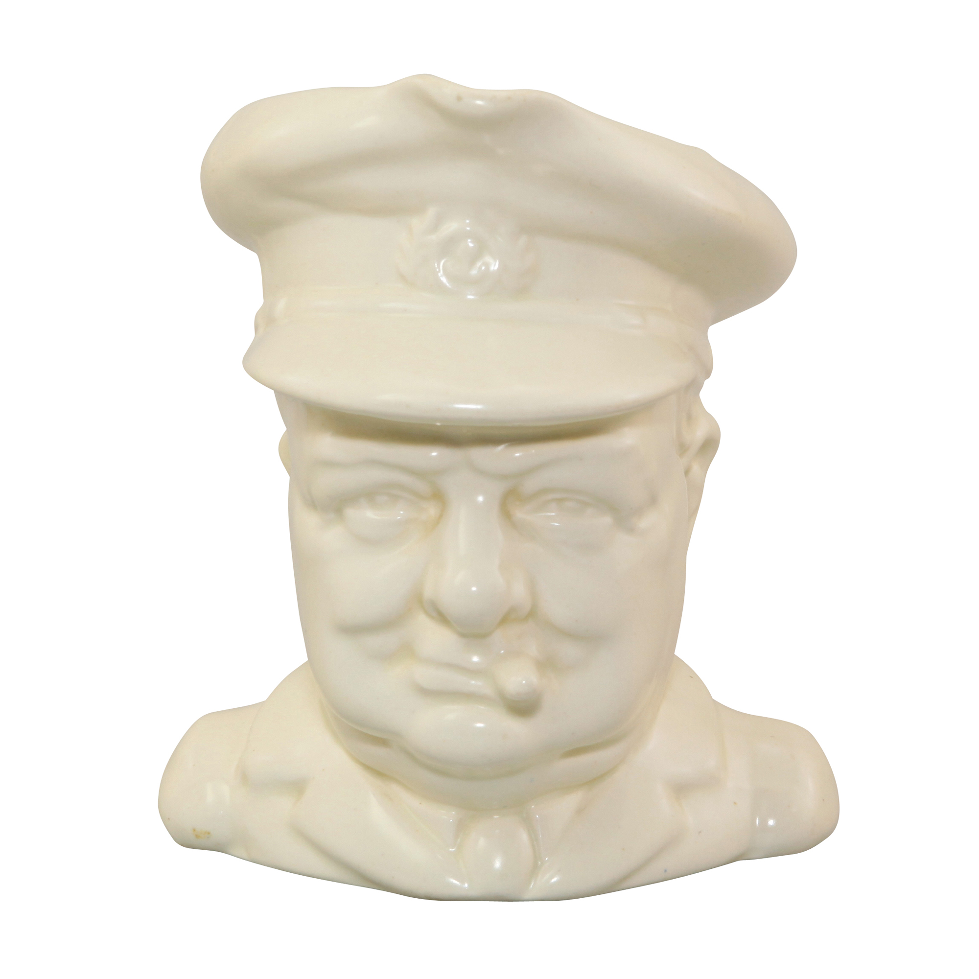 Winston Churchill Character Jug (All White)