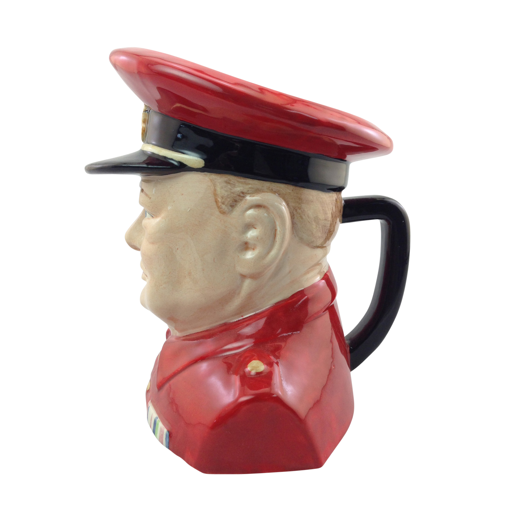 Winston Churchill Character Jug in Royal Airforce Uniform