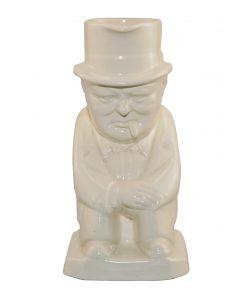 Winston Churchill Toby Jug (All White)