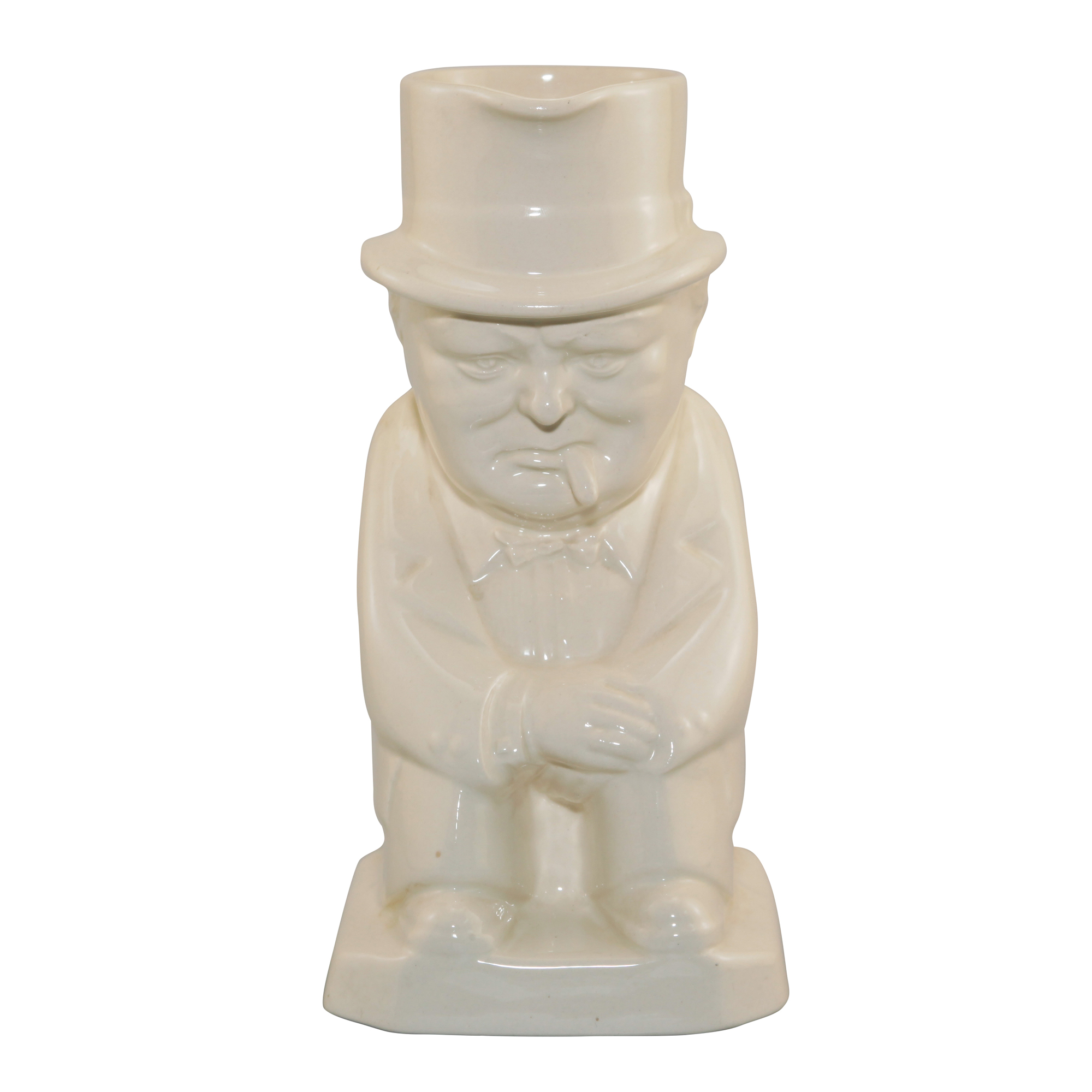 Winston Churchill Toby Jug (All White)